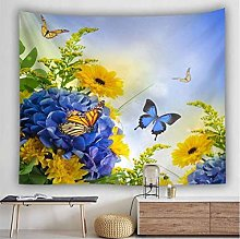 AnnQing Natural Landscape Sea Waves Tapestry Wall