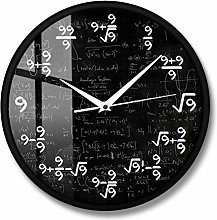 AnnQing The Nines Math Wall Clock Number 9 Math