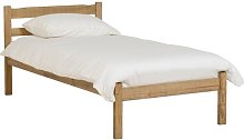 Anns Low Foot End Bed Frame Three Posts Size: