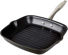 Anodised Square Grill Pan 24Cm X 24Cm Dishwasher