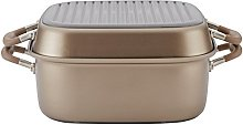 Anolon Advanced Hard Anodized Nonstick Grill Pan /