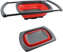 ANPI Over Sink Collapsible Colander, Expandable