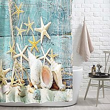 ANPI Waterproof Shower Curtain, Art Prints Machine
