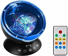 Anpress Ocean Wave Projector Lamp Remote Control