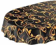 ANRO Oilcloth Tablecloth Washable Oilcloth