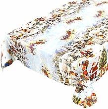 ANRO Oilcloth tablecloth, wax tablecloth,