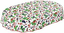 ANRO Table Cloth Table Linen Easy Care Berry