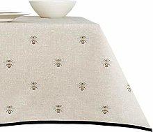 ANRO tablecloth washable premium textile table