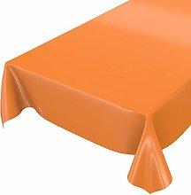 Anro Washable Tablecloth, Shiny Oilcloth,