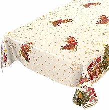 ANRO Waxed tablecloth, wax tablecloth, Christmas