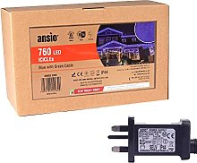 ANSIO Christmas Icicle Lights Outdoor 760 LED