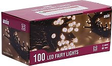 ANSIO Christmas Lights 100 LED Battery Operated