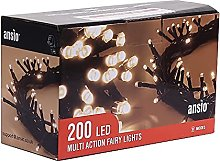 ANSIO® Christmas Lights 200 LED 20m/65ft