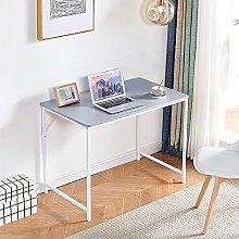 Ansley&HosHo-EU 100cm Home Office Desk, Wood