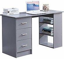 Ansley&HosHo-EU Modern Wood Computer Desk PC
