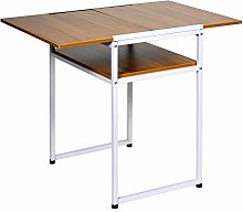 Ansley&HosHo Foldable Dining Kitchen Table Drop