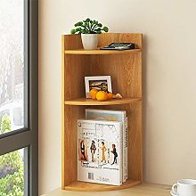 Ansley&HosHo Mini Desktop Bookshelf Small Wooden