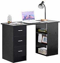 Ansley&HosHo Modern Wood Computer Desk PC Laptop