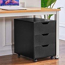 Ansley&HosHo Office Mobile Under Desk Storage