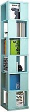Ansley&HosHo Rotating Corner Bookcase Wooden