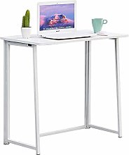 Ansley&HosHo Small Folding Computer Desk Laptop