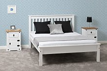 Anthony Bed Frame Three Posts Size: Double
