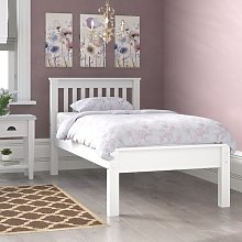 Anthony Bed Frame Three Posts Size: Single