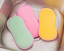 Anti-Bacterial Kitchen Microfiber Sponge Scouring