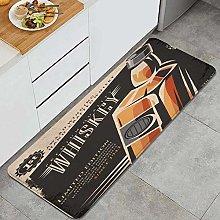 Anti-Fatigue Kitchen Floor Mat,Alcohol 60S Scotch