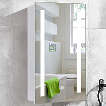 Anti-fog Wall Mounted Mirror Cabinet, Touch