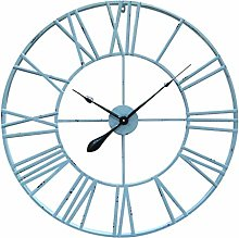 Antic by Casa Chic - Large Metal Wall Clock - 76