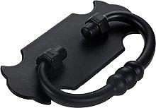 Antique Black Handle 60mm Ring Knob Panel Pull