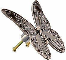 Antique Bronze Furniture Handle Vintage Butterfly