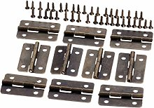 Antique Bronze Hinges 10pcs 30x21mm Antique Bronze