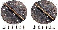 Antique Bronze Mini Hinges 2Pcs Antique Bronze