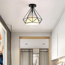 Antique Ceiling Light Diamond Industrial Ceiling