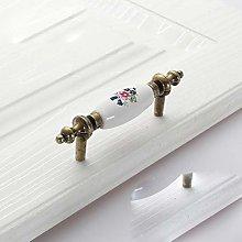 Antique Ceramic Drawer Pull Handle Wardrobe Door