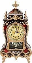 Antique Clock,Vintage European-Style Table Desk