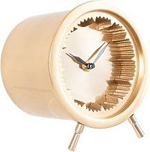 Antique Cog Design Tabletop Clock Breakwater Bay