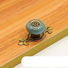 Antique Copper Knobs Ceramic Knobs Dresser Knob