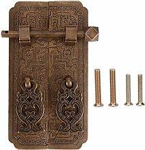 Antique Door Handle, Chinese Style Antique Copper