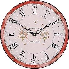 Antique Grandfather Dial 36cm Wall Clock Roger