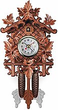 Antique Hanging Cuckoo Clock Wall Clocks, Wooden
