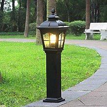 Antique Outdoor Lamp Waylight Cast Iron Black