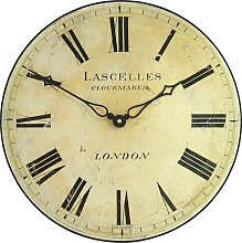 Antique Style Wall Clock Roger Lascelles Clocks
