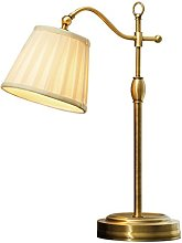 Antique Table Lamp Bronze Liftable Desk Lamp
