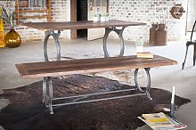 Antique teak bench Tonnel