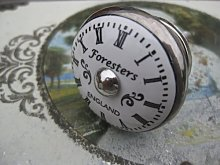 Antique/vintage style 'Foresters' CLOCK