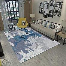 antistatic mats Blue carpet, casual simple balcony