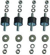 Antivibrationsfüße anti Vibration Damper 4 Set